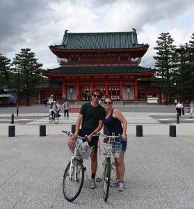 kyoto japan tempel temple biking biketour