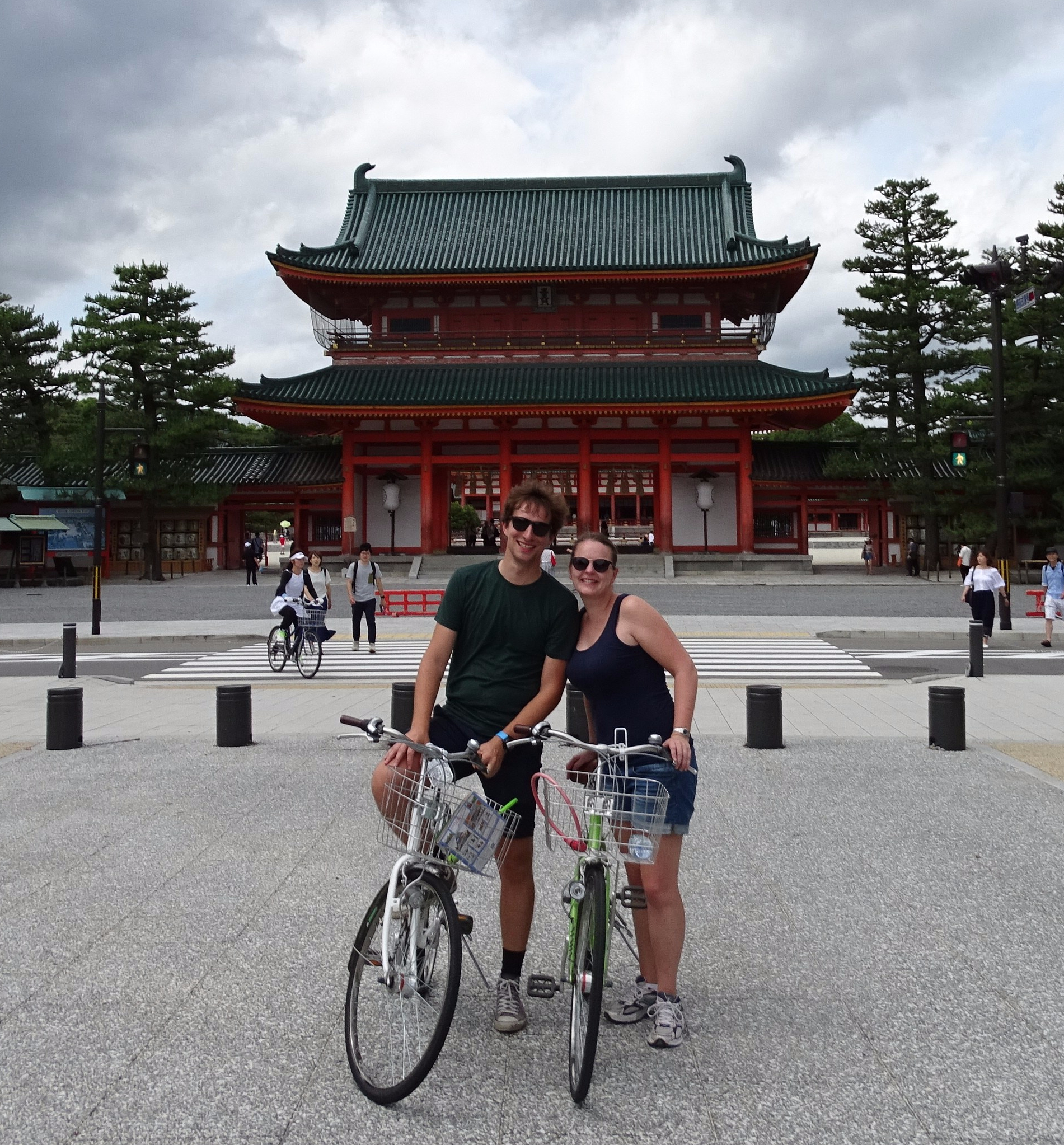kyoto japan tempel temple biking biketour