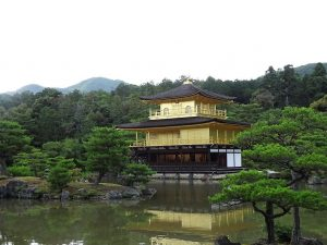 kyoto japan golden pavilion gouden paviljoen