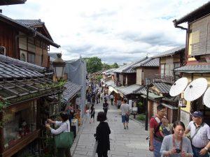 Kyoto Higashiyama district biketour buddha