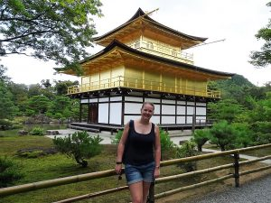 kyoto gouden paviljoen golden pavilion fietstocht japan