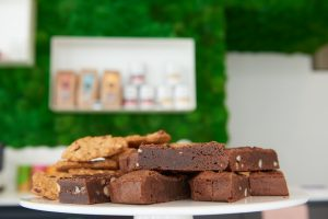 Happy Skin Kafé muffins Brownies chocolade chodolat mos
