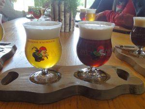 la chouffe glas la chouffe glaasjes la chouffe degustatie bezoek brouwerij la chouffe