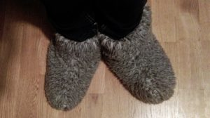 Pantoffels sloefen uit berlijn cosy outfit