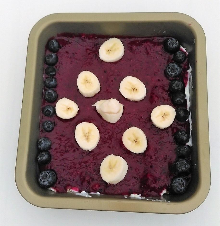 gezonde ontbijttaart taart aardbeien rode vruchten