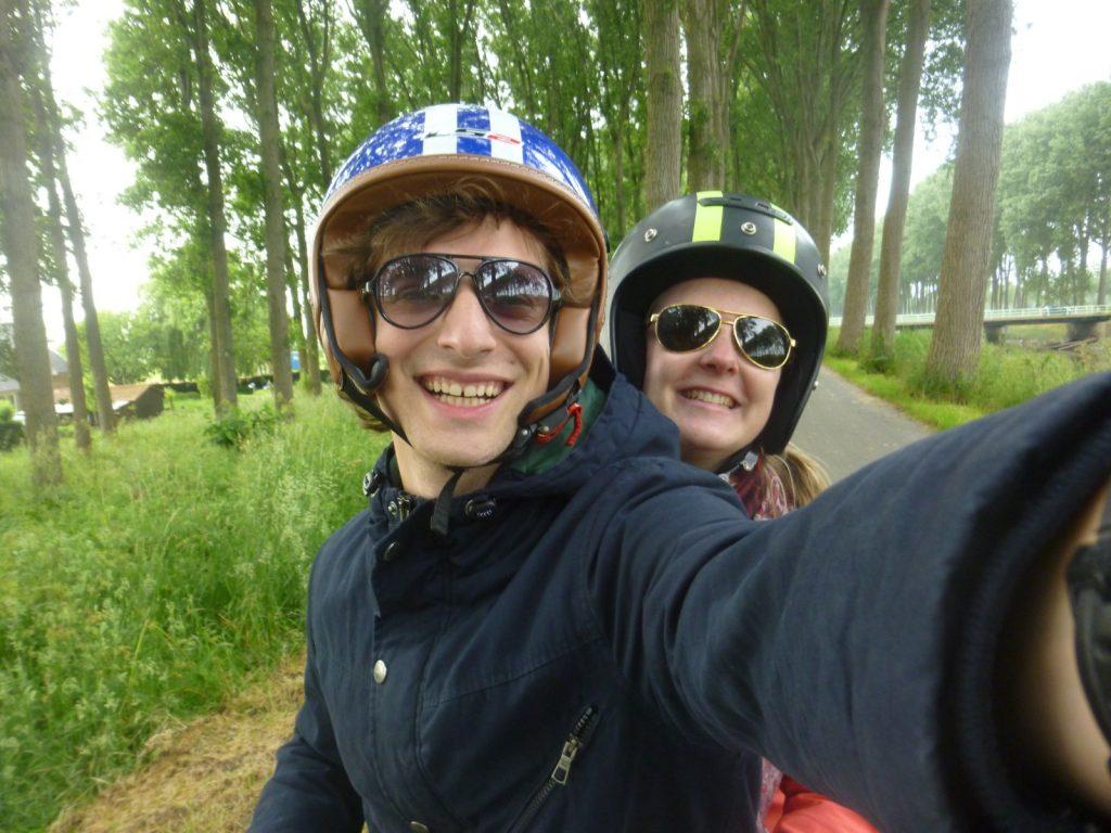 damme scooter fotofabriek selfie blog belgische blogger