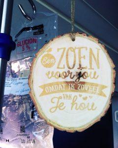 AZ nikolaas houten spreuk vriendschap liefde