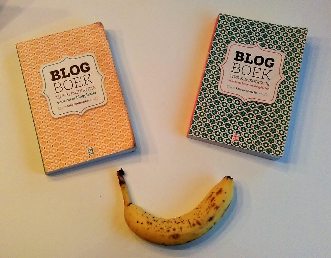 Blogboek kelly deriemaeker banaan copywriter copyrwriting