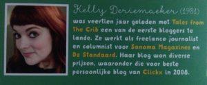 blogboek kelly deriemaeker copywriter SVRine Séverine De Ryck