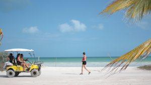 Isla holbox yucatan mexico blog golf kart