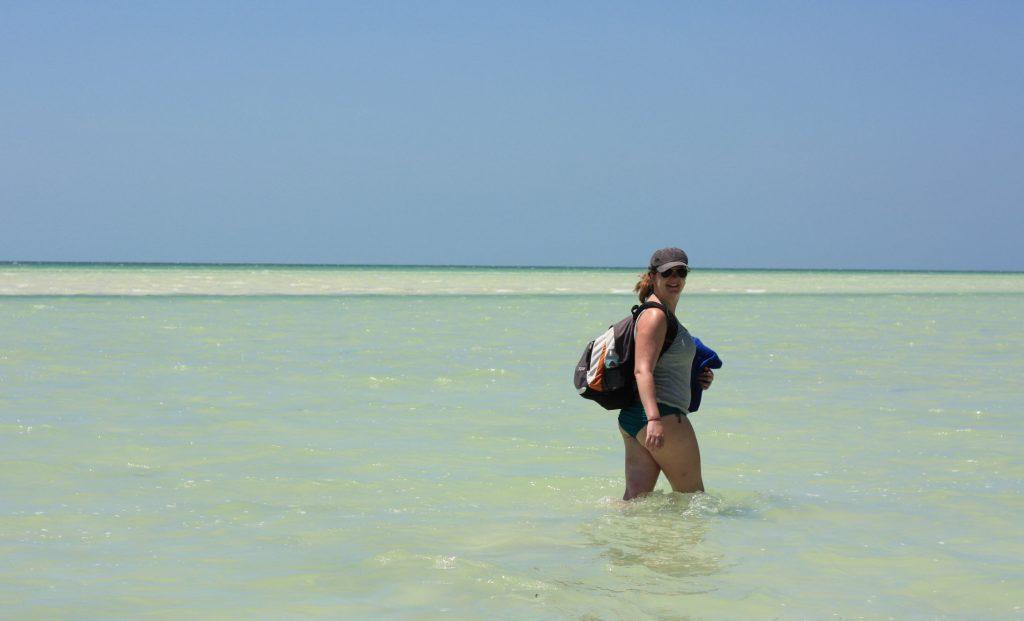 punto mosquito isla holbox strand yucatan mexico