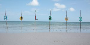 isla holbox letters word yucatan mexico blog