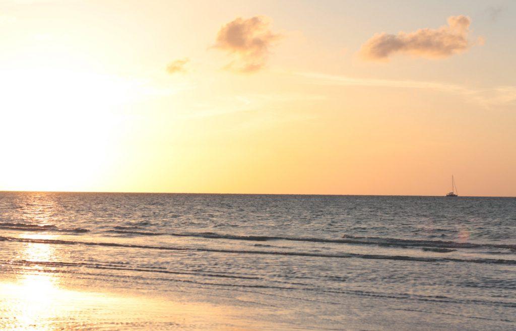 isla holbox sunset yucatan mexico blog