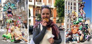 weekend to do valencia buñuelos fallas blog