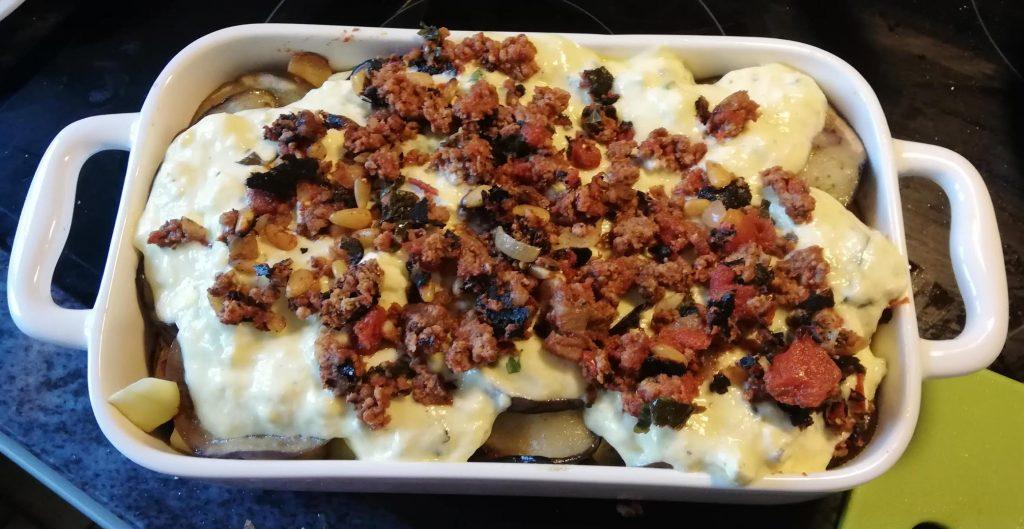 ottolenghi recept moussaka
