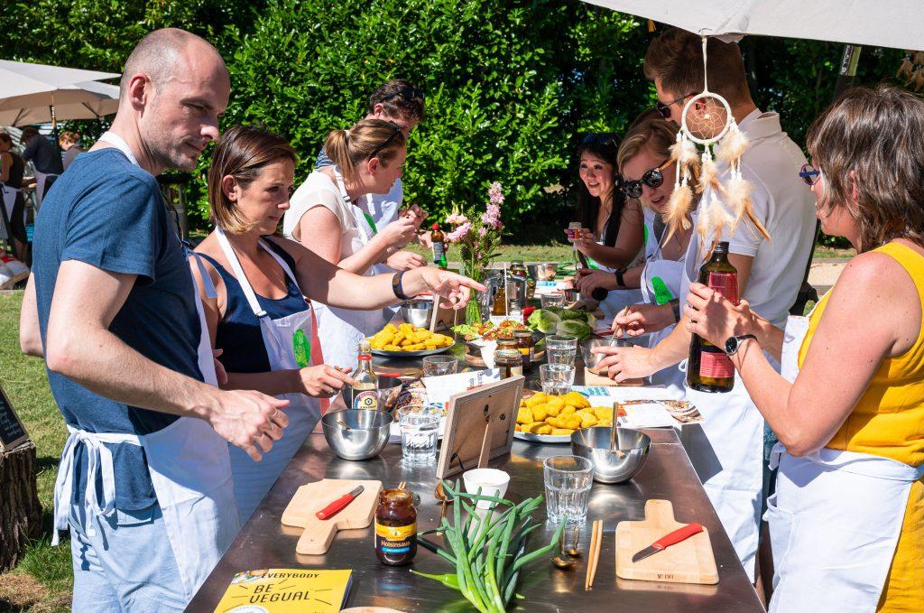 the bio veggie company workshop healthy food makes you feel good