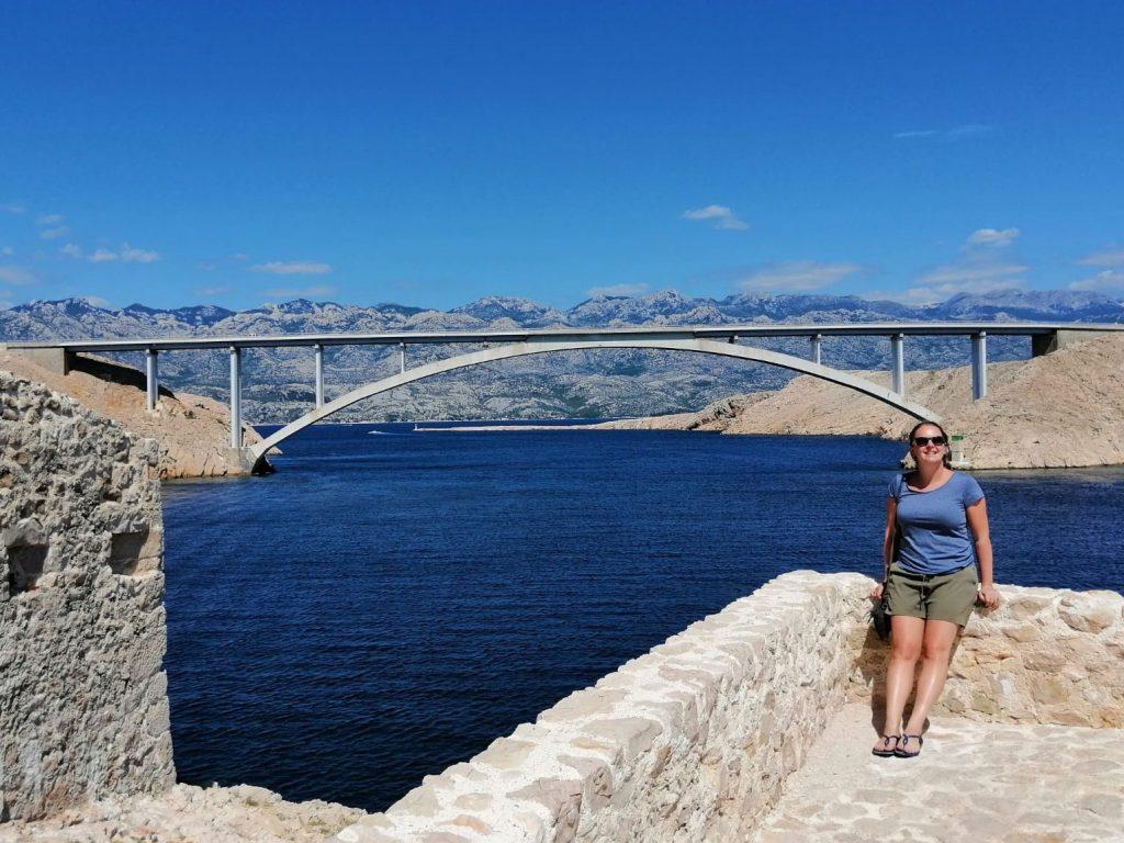 pag kroatie brug vakantie roadtrip