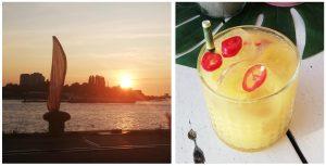 aloha antwerpen bocadero zonsondergang antwerpen
