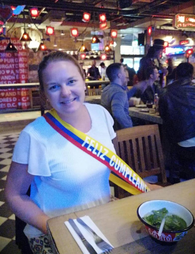 andres carne de res bogota feliz cumpleanos colombian flag vlag van colombia severine de ryck