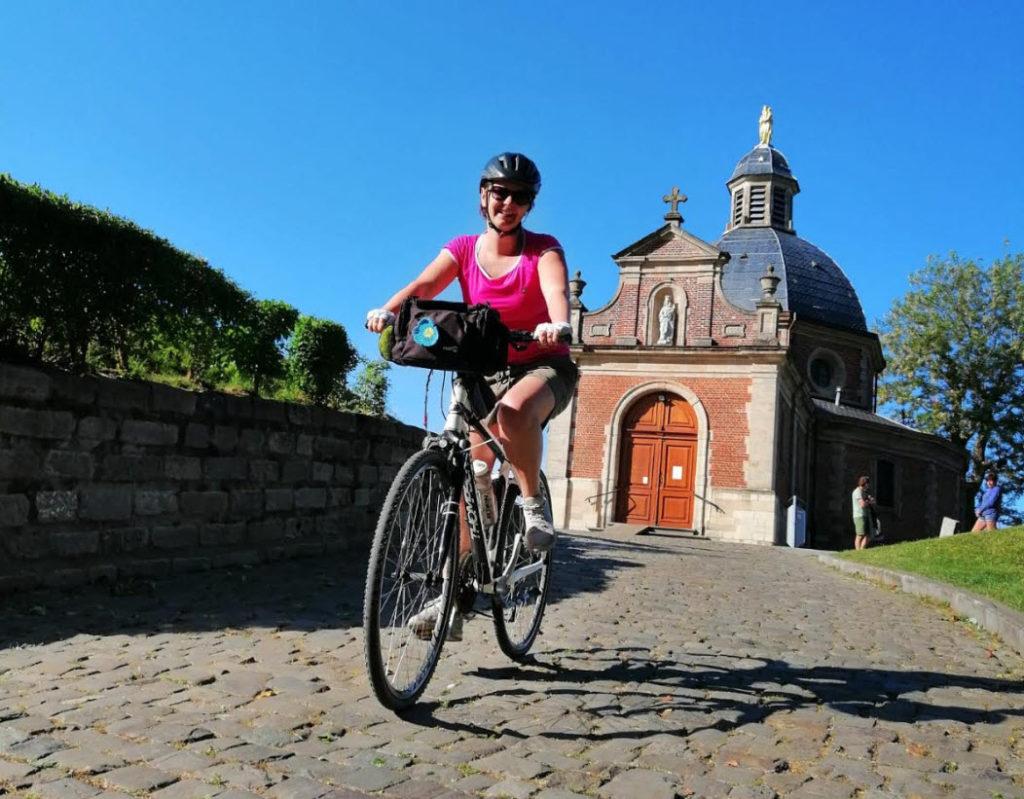 muur van geraardsbergen kapel geraardsbergen thomson fiets