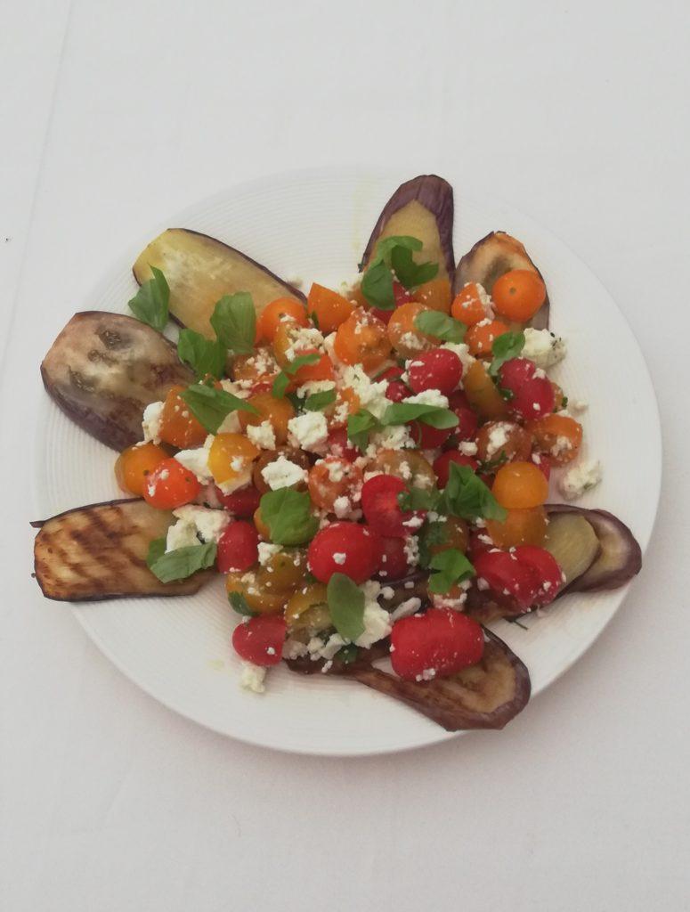 aubergine feta tomaat basilicum cookameal
