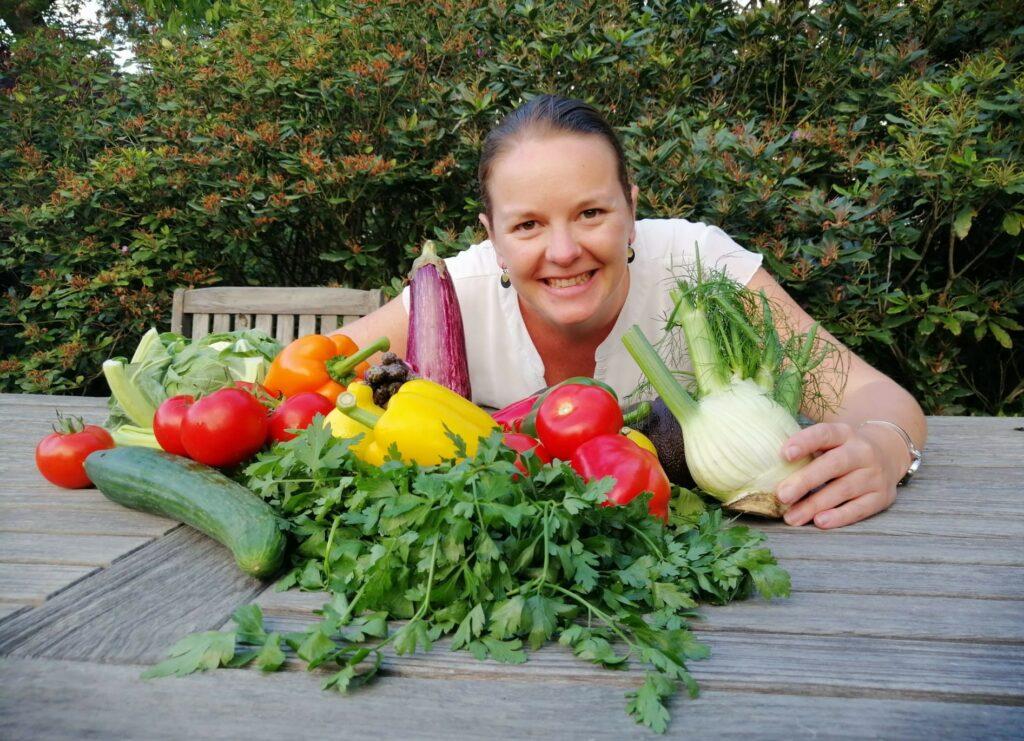 blog séverine de ryck svrine gezonde levensstijl healthy lifestyle meer groenten eten detoxen platte peterselie venkel courgette aubergine gele paprika