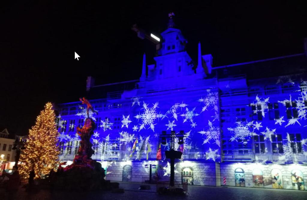 lichtjes in Antwerpen Grote Markt